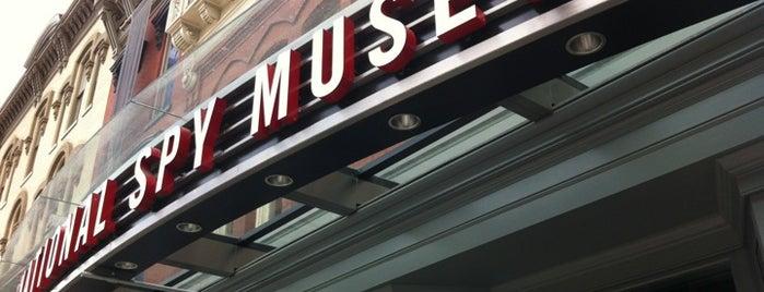 International Spy Museum is one of Washington, DC.