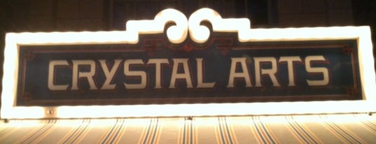Crystal Arts is one of Disneyland Shops.