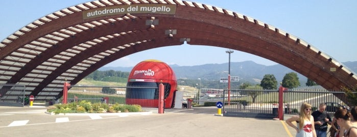 Autodromo Internazionale Del Mugello is one of Under the Florence Sun - #4sqcities.