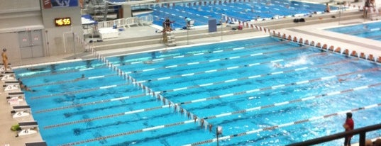 Jamail Texas Swimming Center (TSC) is one of Must-visit Great Outdoors in Austin.