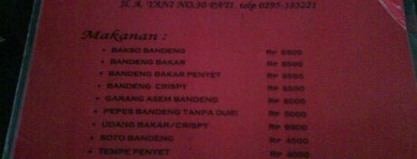 Bandeng Bakar Rindang 84 is one of The 20 best value restaurants in Pati, Indonesia.