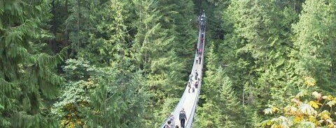 Capilano Suspension Bridge is one of The best spots in Vancouver, BC! #4sqCities.