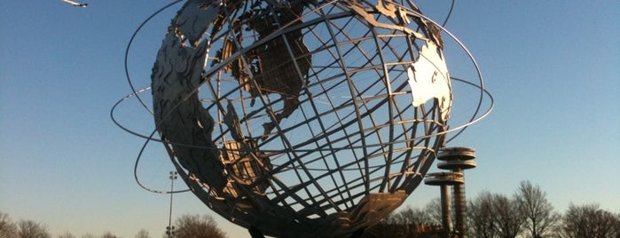 "The Unisphere is one of ""Be Robin Hood #121212 Concert"" @ New York!."