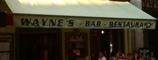 Wayne's is one of FR2DAY's Favourite Cafés & Bars on the Côte d'Azur.
