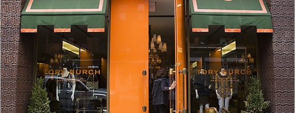 Tory Burch - Temporarily Closed is one of Sophie's Favorite Holiday Spots in NYC.