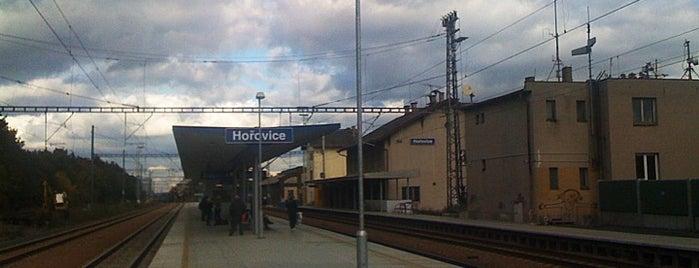 Železniční stanice Hořovice is one of Železniční stanice ČR: H (3/14).