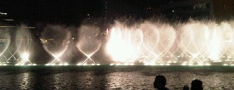 The Dubai Fountain نافورة دبي is one of Explore Dubai.