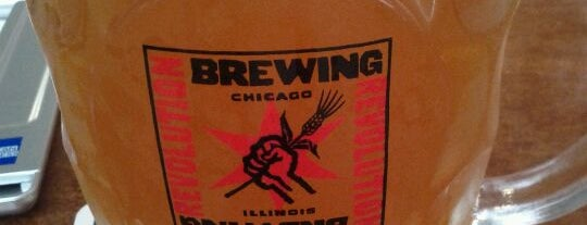 Revolution Brewing is one of The Windy City Badge.