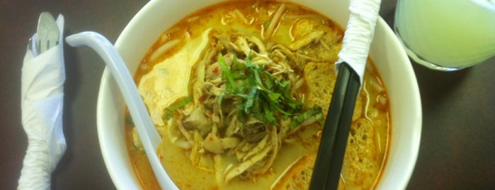 Merlion Noodle and Rice is one of C'BUS- Ethnic Route.
