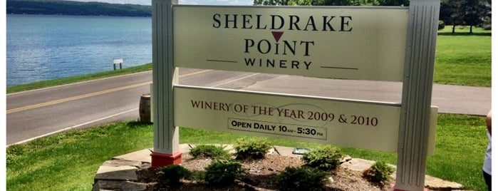 Sheldrake Point Winery is one of New York State Wineries.