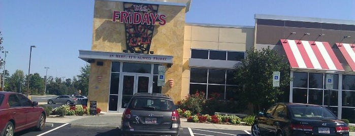 TGI Fridays is one of 20 favorite restaurants.