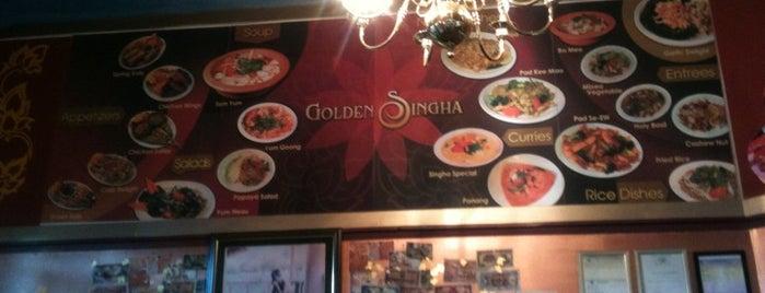 Golden Singha Thai Cuisine is one of Dinner.