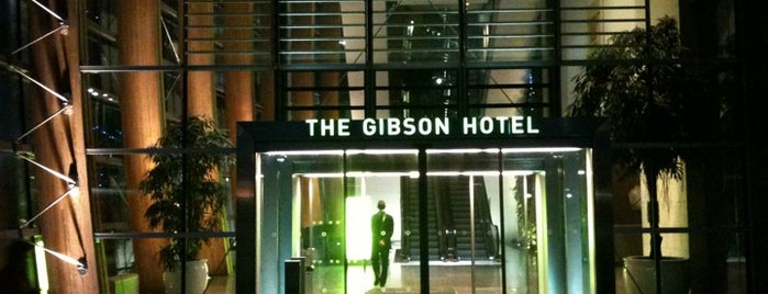 The Gibson Hotel is one of Things I want to do in Dublin.