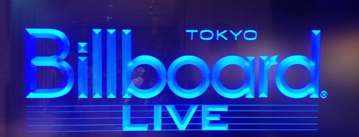 ビルボードライブ東京 (Billboard Live TOKYO) is one of ライブハウス.