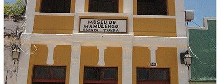Espaço Tiridá Museu do Mamulengo is one of Turistando em Pernambuco/Tourism in Pernambuco.