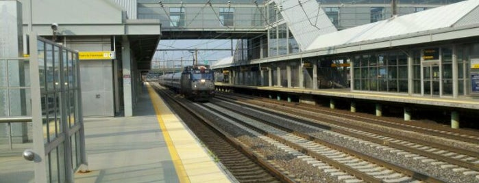 Newark Liberty Airport Station (Amtrak/NJT) is one of New Jersey Transit Train Stations.