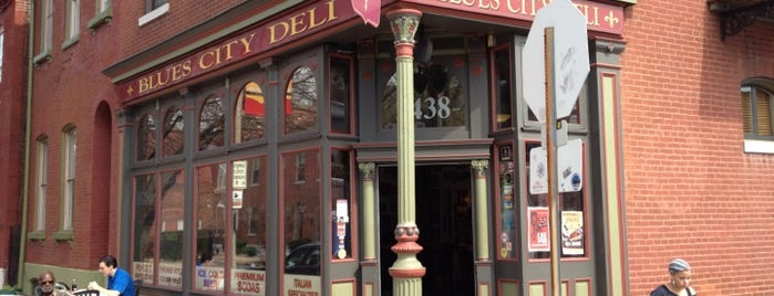 Blues City Deli is one of Best Places in #STL #visitUS.