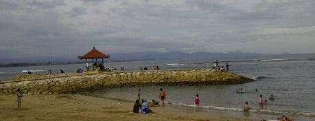 Pantai Sanur (Sanur Beach) is one of Beautiful Beaches in Bali.