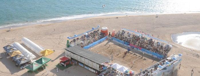 Estadio Panamericano de Voleibol de Playa is one of Instalaciones / Venues.