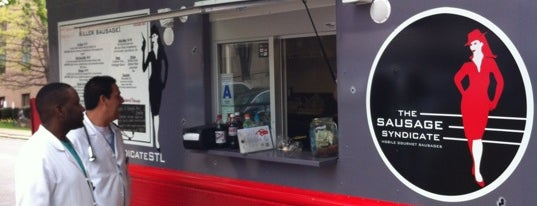 The Sausage Syndicate is one of Saint Louis Food Trucks.