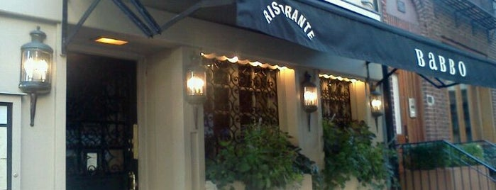 Babbo Ristorante is one of Restaurants.