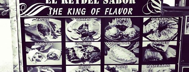 El Rey Del Sabor is one of Top Food Trucks in Midtown.