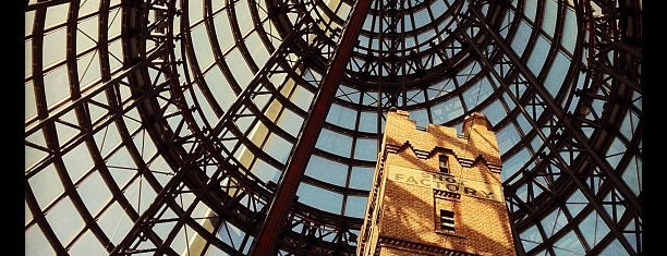 Melbourne Central is one of Quintessential Melbourne.