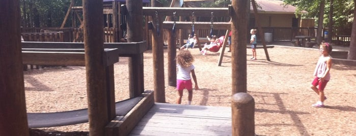 Gahagan Park Playground is one of Places in the Lowcountry to take my nephew.