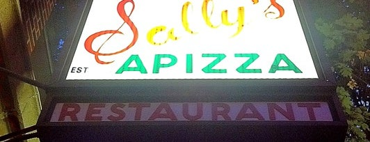 Sally's Apizza is one of New Haven.