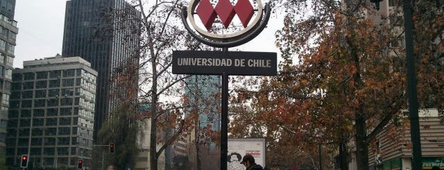 Metro Universidad de Chile is one of Chile.