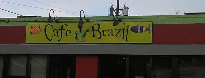 Cafe Brazil is one of Restaurants.