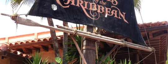 Pirates of the Caribbean is one of Florida Rides 2012.