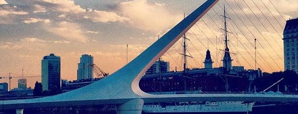 Puente de la Mujer is one of Buenos Aires - Puerto Madero.