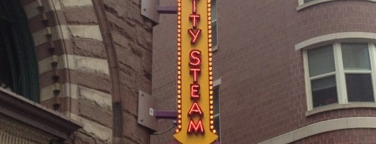 City Steam Brewery is one of 20 favorite restaurants.