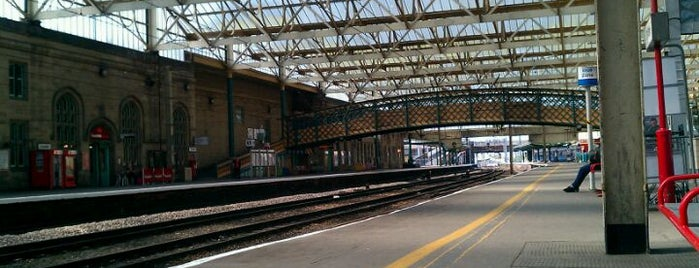 Carlisle Railway Station (CAR) is one of Railway Stations in UK.