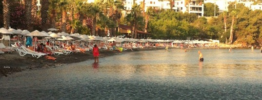 Meteor Beach is one of Guide to Bodrum's best spots.