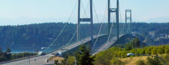 Tacoma Narrows Bridge is one of top ten things to do in Tacoma when sunny.