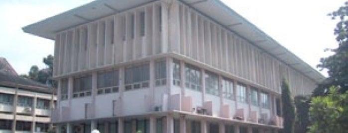 Perpustakaan Fakultas Pertanian UGM is one of Fakultas Pertanian UGM.