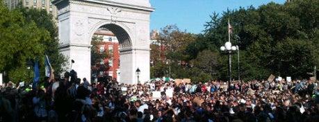 #OccupyWashingtonSquarePark is one of #OccupyAmerica Locations.