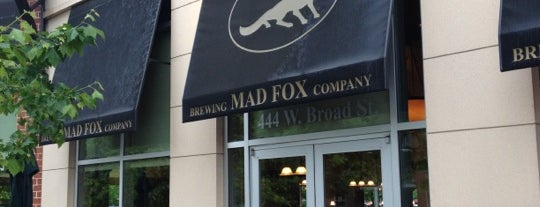 Mad Fox Brewing Company is one of DC Burgers.