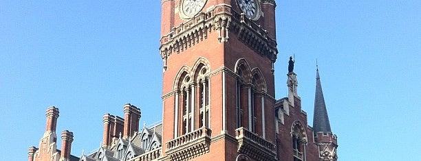 London King's Cross Railway Station (KGX) is one of My United Kingdom Trip'09.