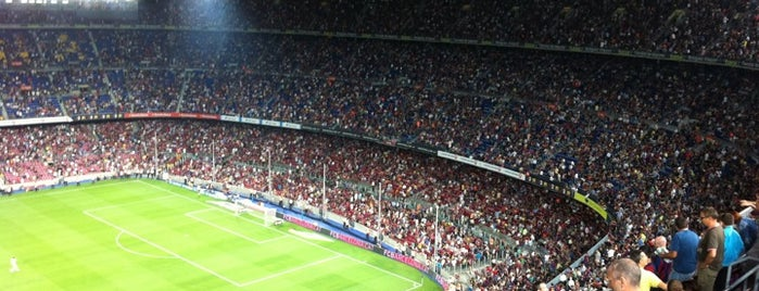 Camp Nou is one of Best Stadiums.