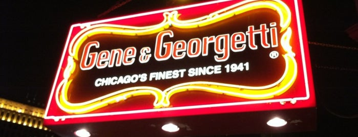Gene & Georgetti is one of Food Paradise.