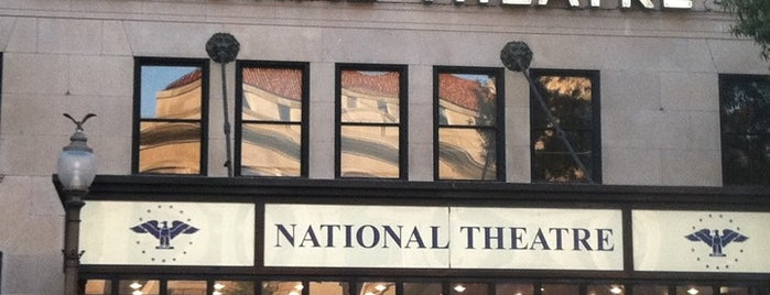 The National Theatre is one of DC To Do - Activities.