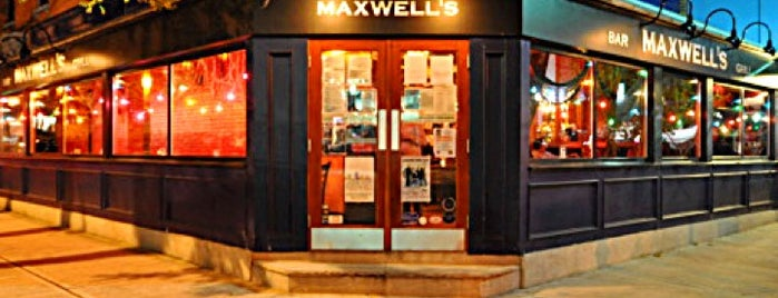 Maxwell's is one of Faves.