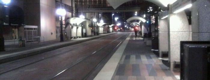 St. Paul Station (DART Rail) is one of DART Orange Line.