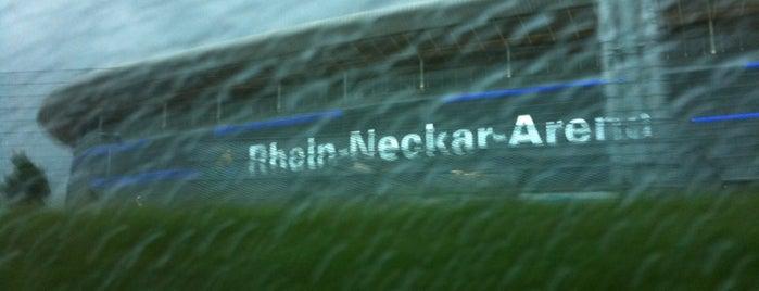 Wirsol Rhein-Neckar-Arena is one of Best Stadiums.