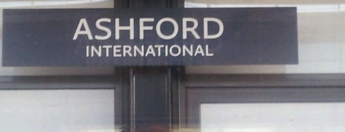 Ashford International Railway Station (AFK) is one of Railway Stations in UK.