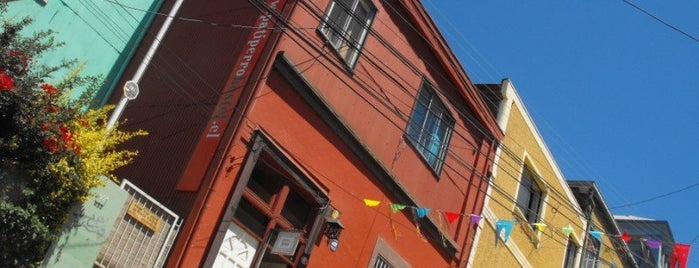 PataPata Hostel is one of Valparaiso City Guide.