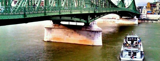 Szent Gellért tér M (Szabadság híd) (D11, D12, D13) is one of BKV D11 kikötők.